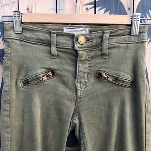 Current/Elliott Jeans - Current Elliott THE SOHO ZIP STILETTO